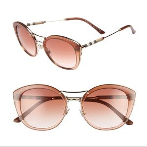 386de5bb1c72 Burberry 53Mm Brown Gradient Sunglasses
